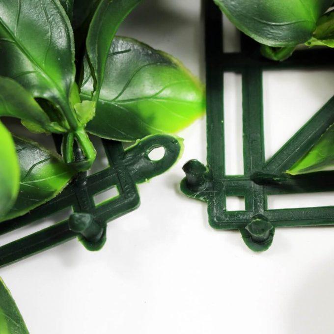 Artificial camelia jasmine hedge panel screen
