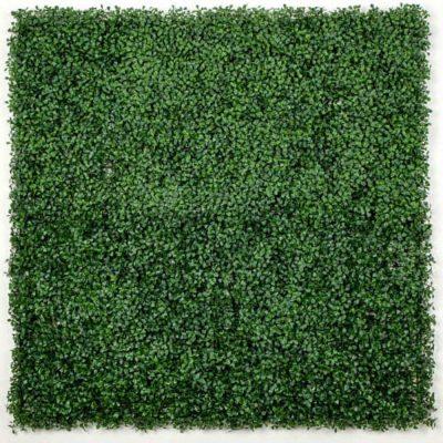 Fake Boxwood Hedge Leaf Screens Panels UV Resistant SAMPLE