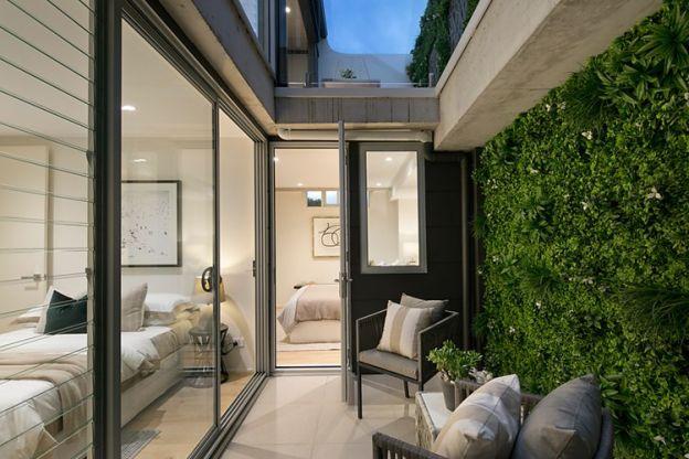 residential vertical garden / green wall installation