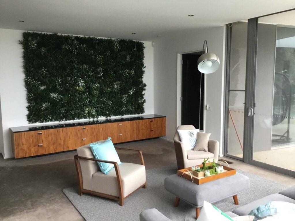 artificial green wall decor