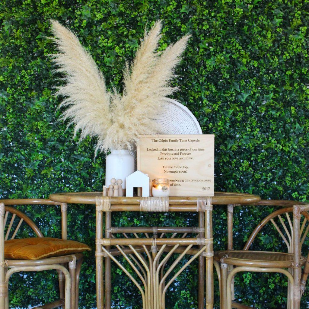 artificial plants wall decor