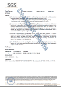 Designer Plants Test Report Page 2
