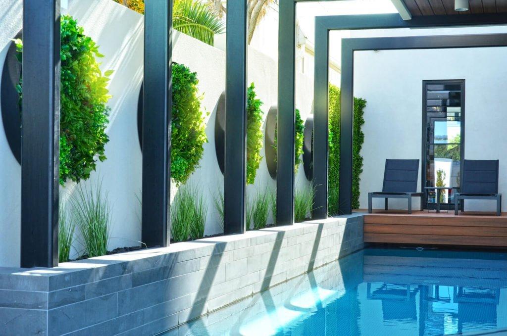 pool side plants