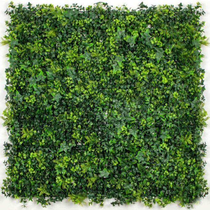 Artificial Green Wall Hedge Panel Spring Sensation
