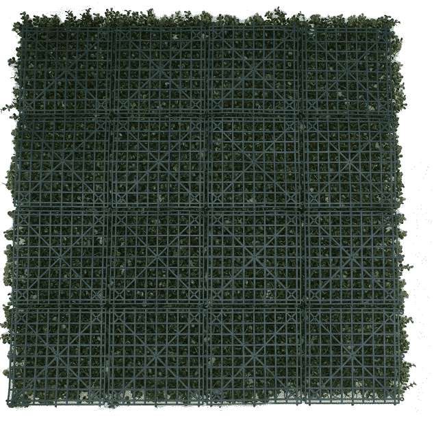 fake buxus hedge panel screen