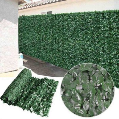 Artificial Fake Plant Ivy Leaf Roll 3m x 1m