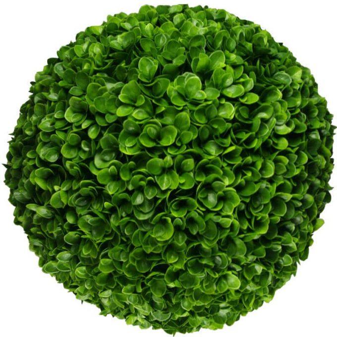 Artificial clover topiary ball