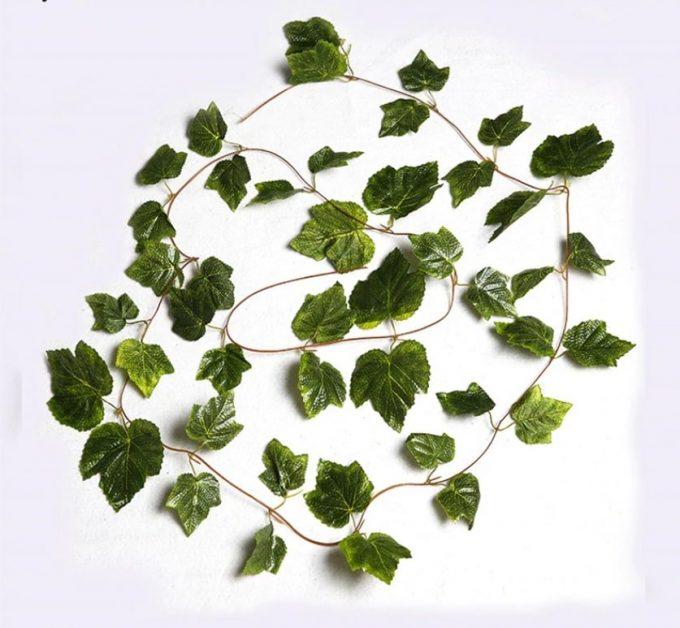 Artificial Plant-Ivy Garland Vines 260cm Each - 5 Per Pack
