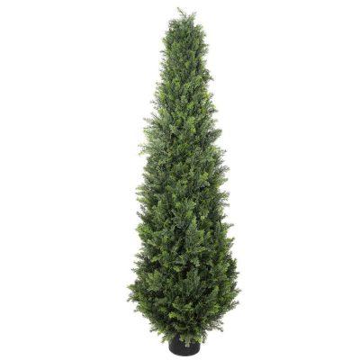 tall fake cypress tree