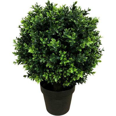 50cm Artificial Hedge Shrub Plant
