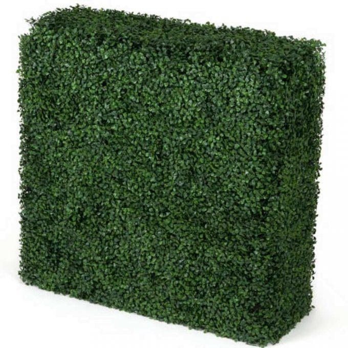 Artificial Portable Boxwood Hedge UV Resistant 75CM x 75cm