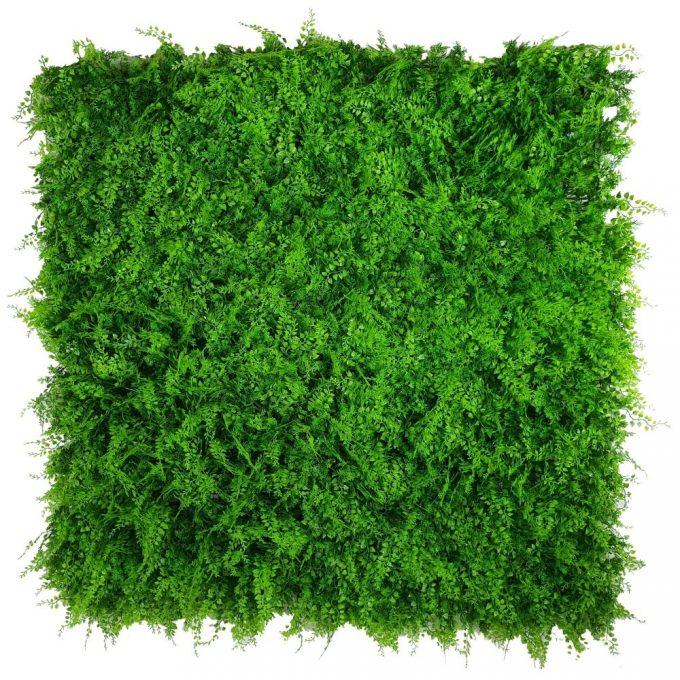 Artificial Plant-Mediterranean Fern Vertical Garden / Green Wall UV Resistant 1m x 1m