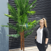 Large artificial palm tree