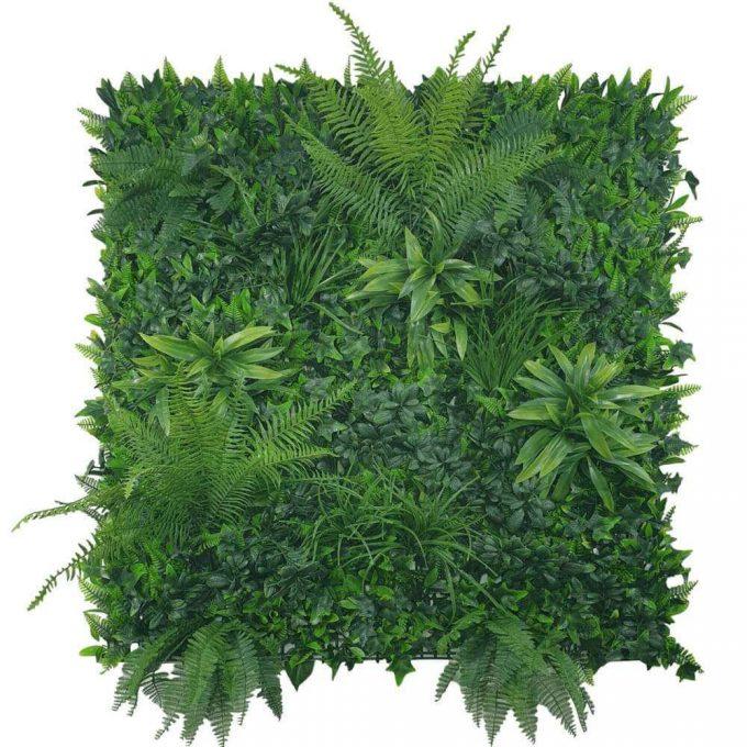 fern artificial vertical garden