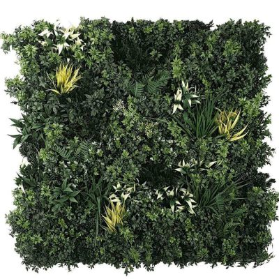 high quality artificial green wall panel - green forest