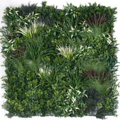 Artificial Green Wall Panels - Mixed Plant Panel