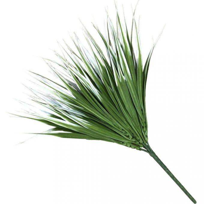 fake plant White Tipped Grass Stem UV Resistant 35cm