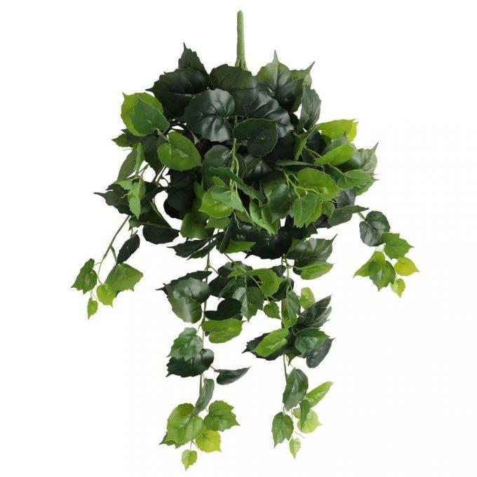 fake plants Variegated Hanging Foliage Bush 100cm