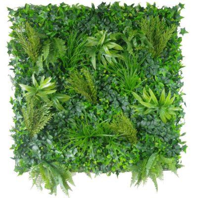 Artificial Plant - Native Tea Tree Vertical Garden / Green Wall UV Resistant 100cm x 100cm