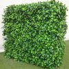 Artificial Plant-Portable Jasmine Artificial Hedge Plant UV Resistant 75cm x 75cm
