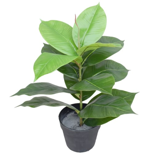 Artificial Potted Rubber Plant