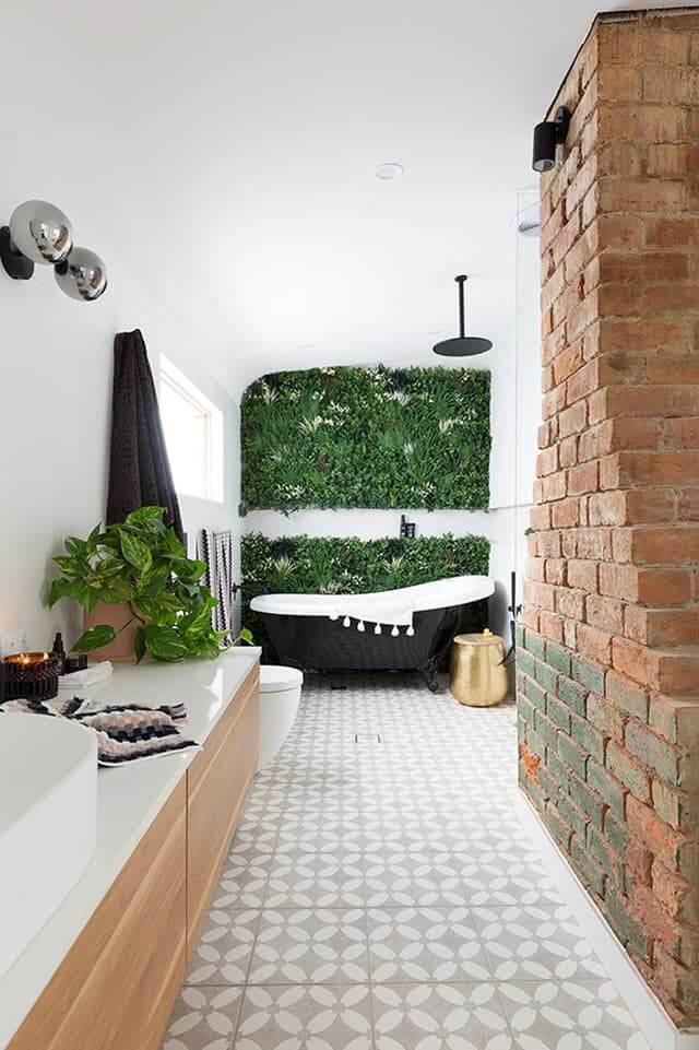 premium artificial green wall panel