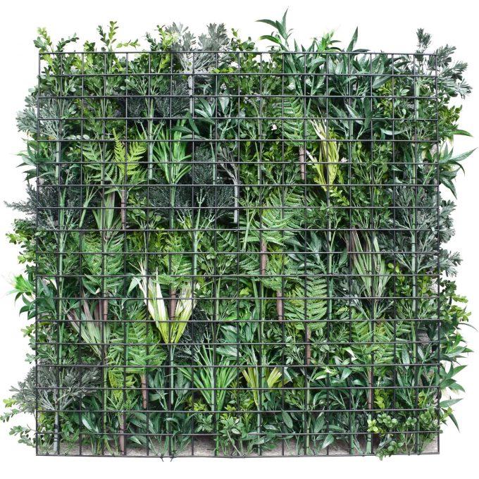 artificial green wall bespoke range backing