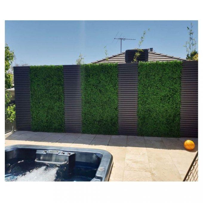Artificial Plant - Deluxe Buxus Hedge Panels UV Resistant 1m x 1m