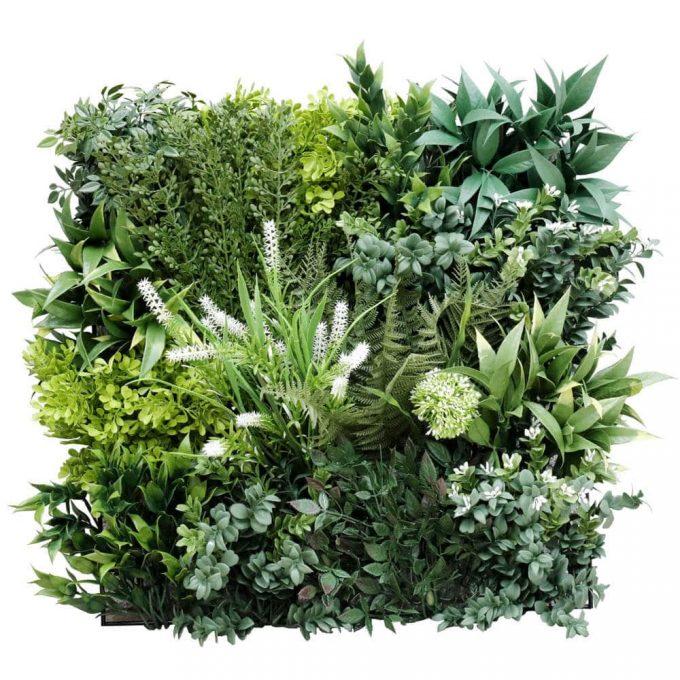 Panel Sample of premium bespoke green wall panel