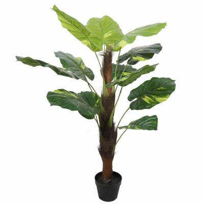 Tree - Artificial Potted Pothos Plant with Pole 100cm