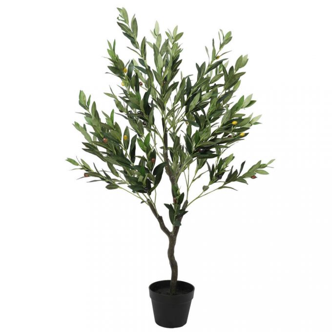 Tree - Artificial Olive Tree with Olives 125cm