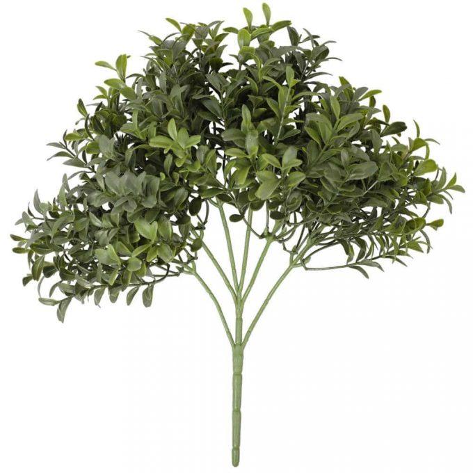 Dense Artificial Buxus Foliage