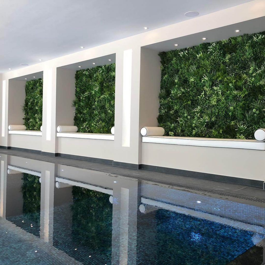 Indoor spa and beauty facility