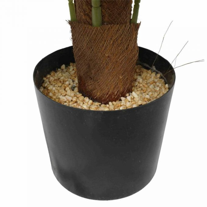 potted fake philodendron plant