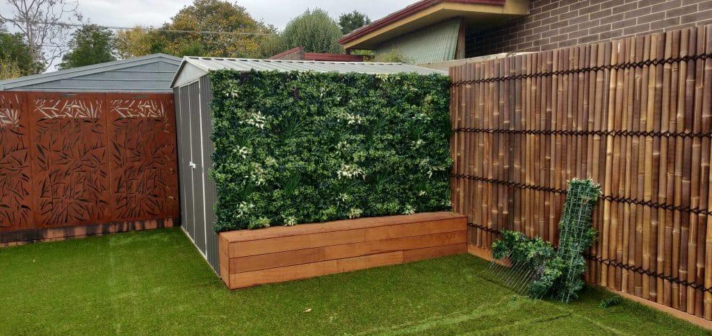 premium fake green wall panels
