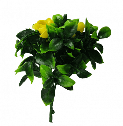 artificial yellow rose stems