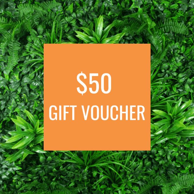 DP Gift Voucher for artificial greenery $50