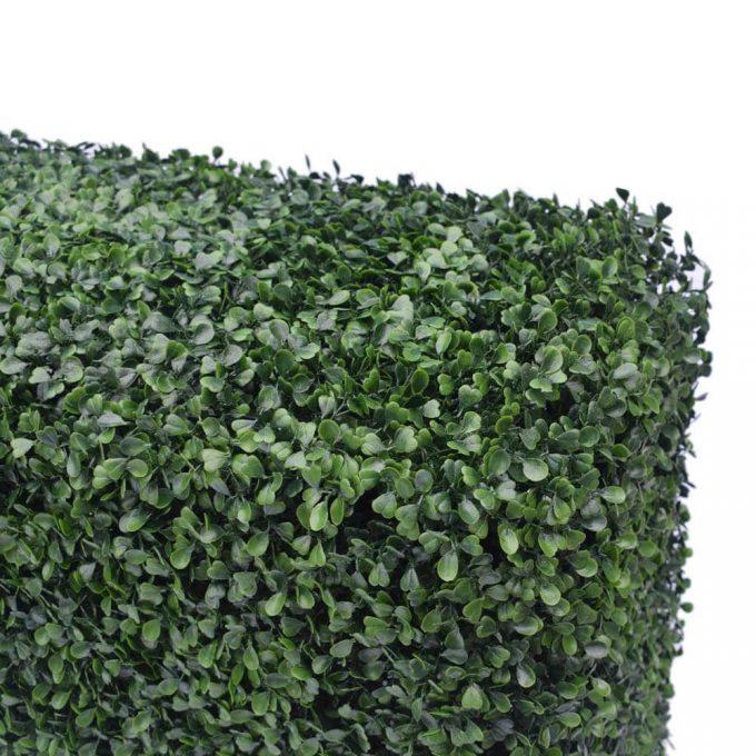 boxwood portable hedge foliage for fake hedge