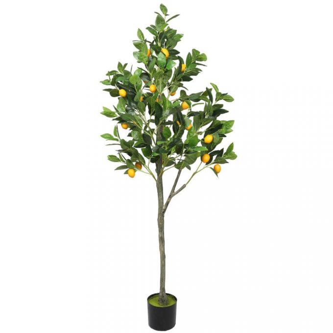 artificial lemon tree