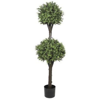 fake ball topiary tree