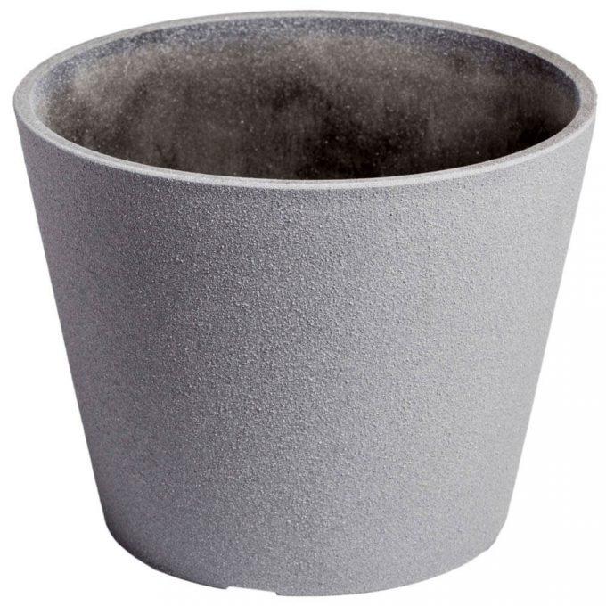 grey home planter pot