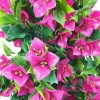 pink flowers - artificial hanging bougainvillea plant