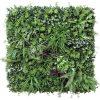 artificial vertical garden with ferns