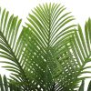 leaves of a fake palm tree