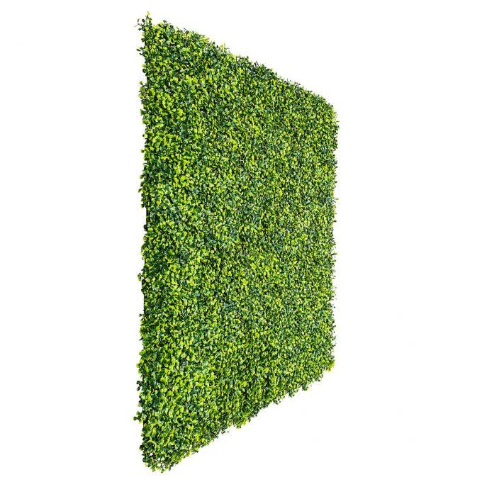artificial fake boxwood hedge panel
