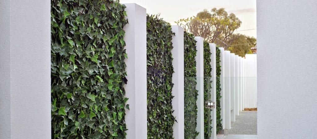 Vertical gardens are an excellent choice for outdoor artificial gardens.jpg