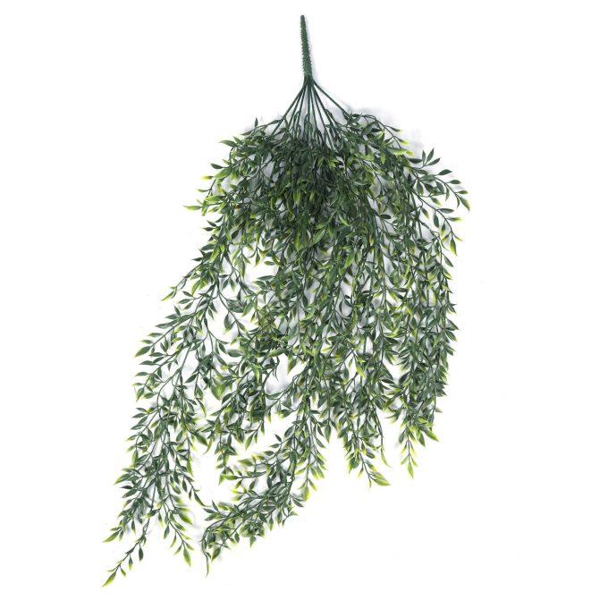 Hanging Fake Hanging Ruscus Leaf Plant
