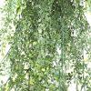 Fake hanging maiden hair fern leaves
