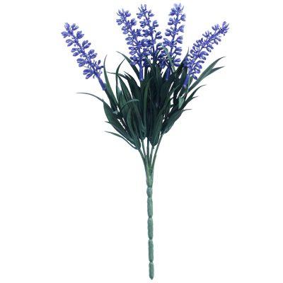 Fake lavender plant on a stem